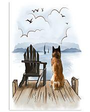 Akita Waiting 11x17 Poster front