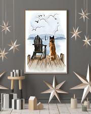 Akita Waiting 11x17 Poster lifestyle-holiday-poster-1