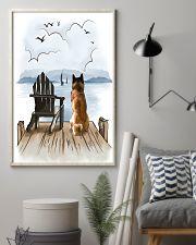 Akita Waiting 11x17 Poster lifestyle-poster-1
