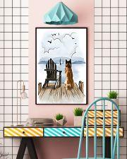Akita Waiting 11x17 Poster lifestyle-poster-6