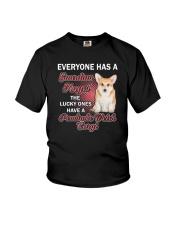 Pembroke Welsh Corgi Guardian Angel 1112 Youth T-Shirt thumbnail