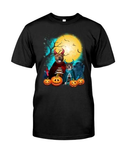 Staffie Halloween 2508