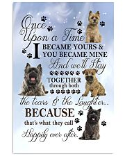 Cairn Terrier Became Mine 11x17 Poster front