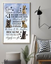Cairn Terrier Became Mine 11x17 Poster lifestyle-poster-1