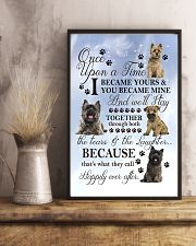 Cairn Terrier Became Mine 11x17 Poster lifestyle-poster-3