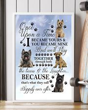 Cairn Terrier Became Mine 11x17 Poster lifestyle-poster-4