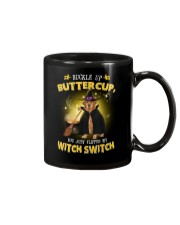 Golden Retriever and witch Mug thumbnail