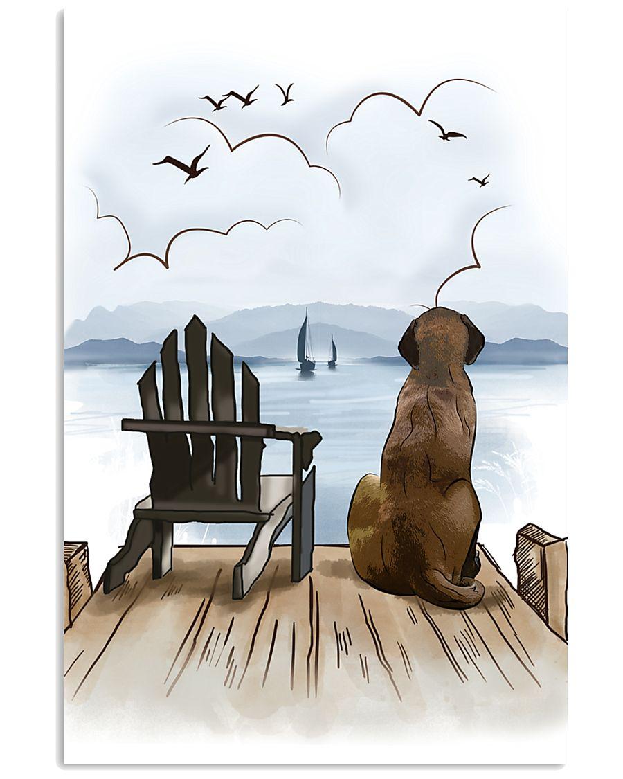English Mastiff Waiting Poster 1512  11x17 Poster
