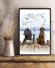 English Mastiff Waiting Poster 1512  11x17 Poster lifestyle-poster-3
