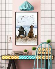 English Mastiff Waiting Poster 1512  11x17 Poster lifestyle-poster-6