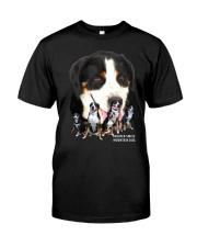 Greater Swiss Mountain Dog Awesome Family 0701 Classic T-Shirt front