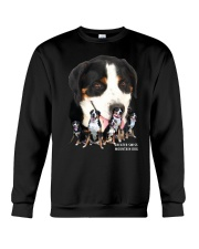 Greater Swiss Mountain Dog Awesome Family 0701 Crewneck Sweatshirt thumbnail
