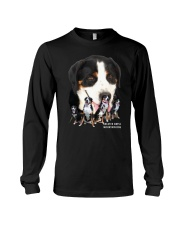 Greater Swiss Mountain Dog Awesome Family 0701 Long Sleeve Tee thumbnail