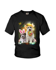 Coton de Tulear Happy Easter Day 2601  Youth T-Shirt thumbnail