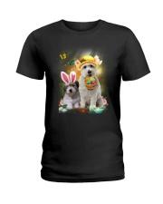 Coton de Tulear Happy Easter Day 2601  Ladies T-Shirt thumbnail