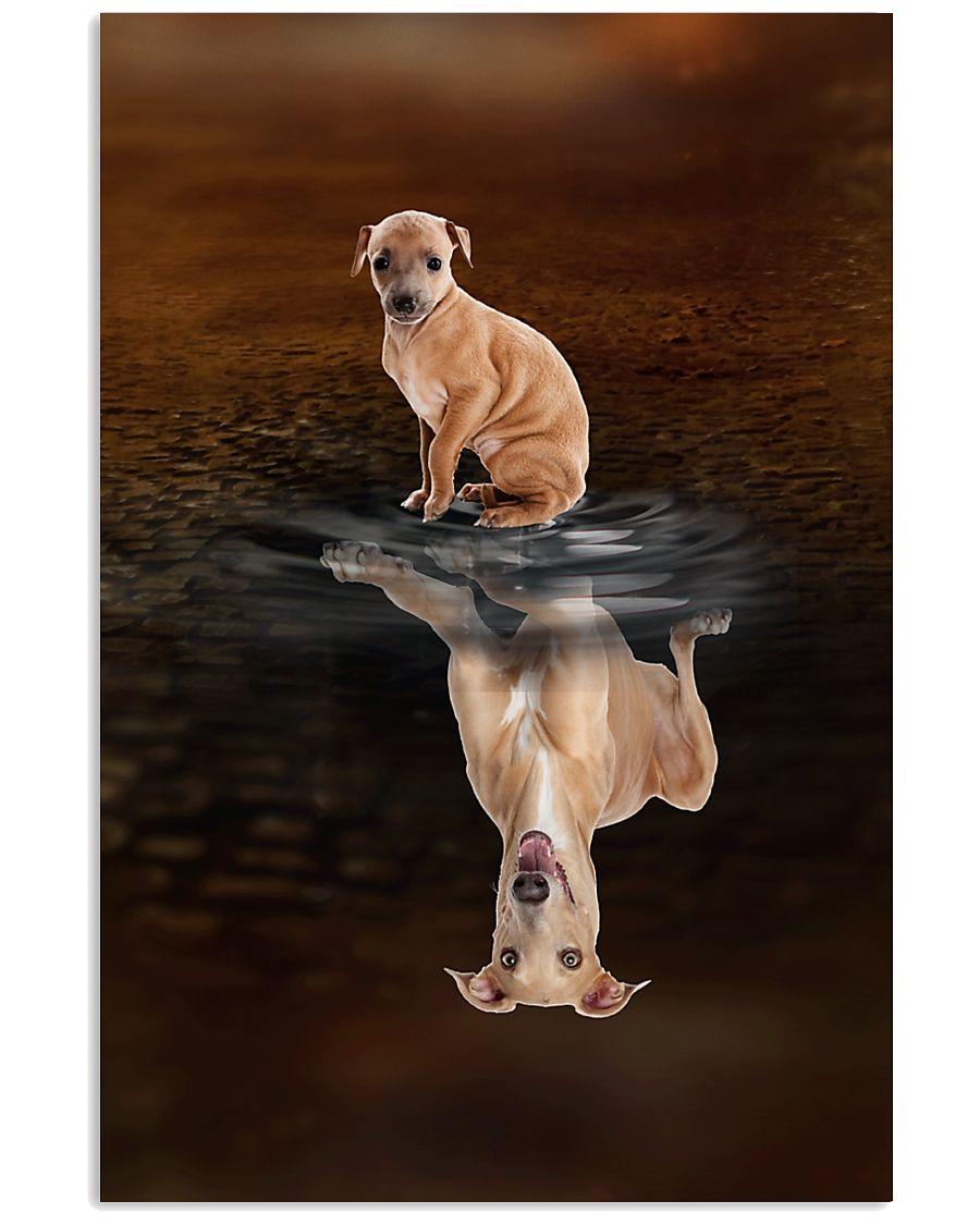 Italian Greyhound Believe 11x17 Poster