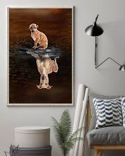 Italian Greyhound Believe 11x17 Poster lifestyle-poster-1