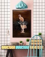 Italian Greyhound Believe 11x17 Poster lifestyle-poster-6