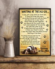 English Cocker Spaniel Waiting at The Door 11x17 Poster lifestyle-poster-3