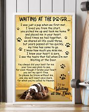 English Cocker Spaniel Waiting at The Door 11x17 Poster lifestyle-poster-4