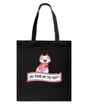 Pit Bull - You should see my heart Tote Bag thumbnail