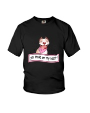 Pit Bull - You should see my heart Youth T-Shirt thumbnail