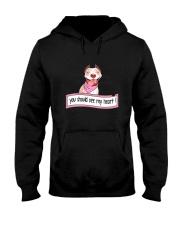 Pit Bull - You should see my heart Hooded Sweatshirt thumbnail