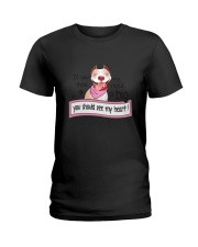 Pit Bull - You should see my heart Ladies T-Shirt thumbnail