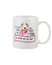 Pit Bull - You should see my heart Mug front