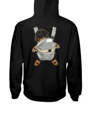 Rottweiler bag 712 Hooded Sweatshirt back