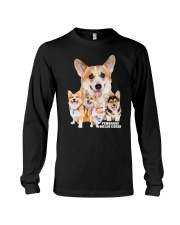Pembroke Welsh Corgi Awesome Family 0701 Long Sleeve Tee thumbnail