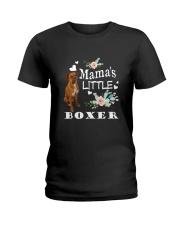 Mama Little's Boxer Ladies T-Shirt thumbnail