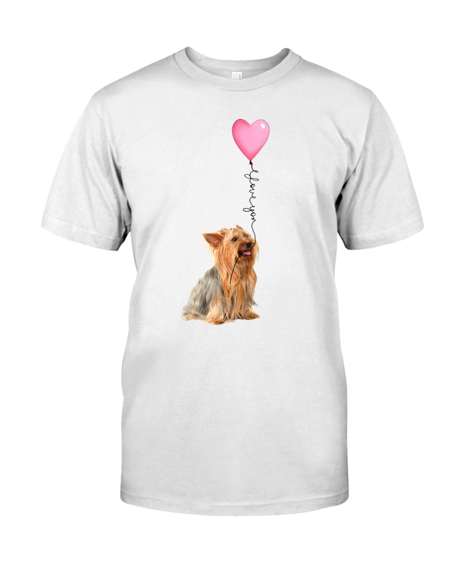 Yorkshire Terrier - Love you Classic T-Shirt