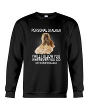 Afghan Hound Personal Stalker 1503 Crewneck Sweatshirt thumbnail