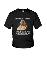 Afghan Hound Personal Stalker 1503 Youth T-Shirt thumbnail