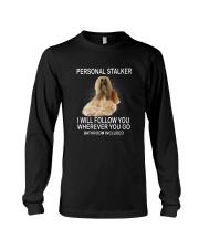 Afghan Hound Personal Stalker 1503 Long Sleeve Tee thumbnail