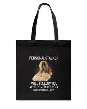 Afghan Hound Personal Stalker 1503 Tote Bag thumbnail
