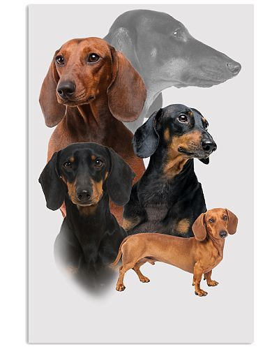 Dachshund Awesome Poster 1812