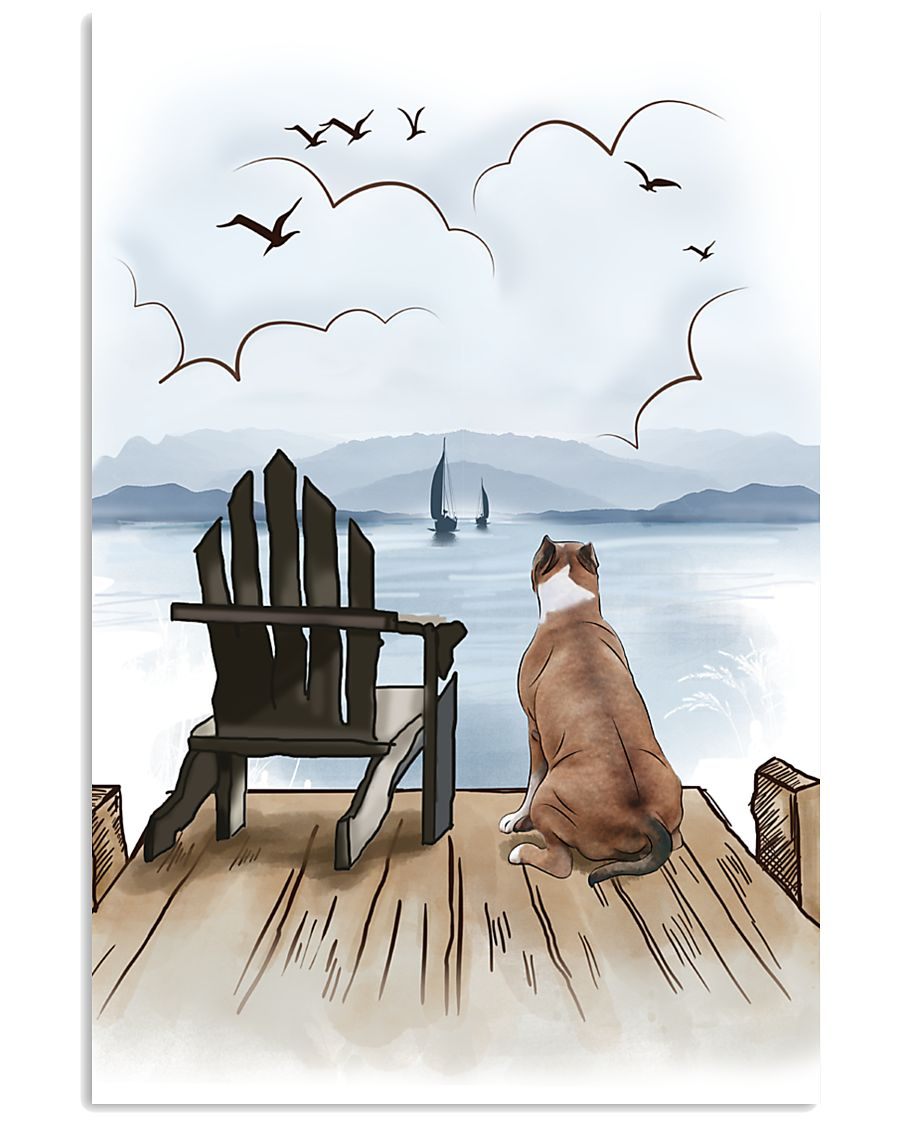 Staffordshire Bull Terrier Waiting 11x17 Poster
