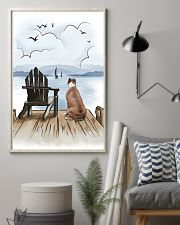 Staffordshire Bull Terrier Waiting 11x17 Poster lifestyle-poster-1