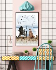 Staffordshire Bull Terrier Waiting 11x17 Poster lifestyle-poster-6