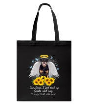 Rottweiler I know 2509 Tote Bag thumbnail