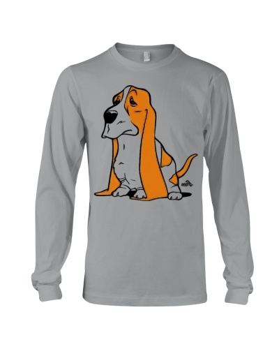 Basset cartoon dog