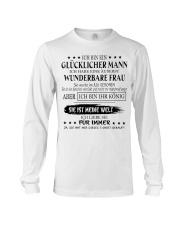 LIMITIERTE AUFLAGE: GESCHENK FUR MANN T07 Long Sleeve Tee thumbnail