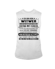 I'm not a widower i'm a husband to a wife wings Sleeveless Tee tile
