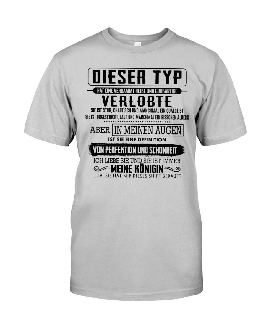 Gift for your fiancee CTD00 Classic T-Shirt