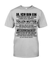 Perfektes Geschenk für Sohn TON00 Classic T-Shirt front