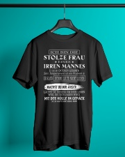 proud husband of a crazy wife 10 Classic T-Shirt lifestyle-mens-crewneck-front-3