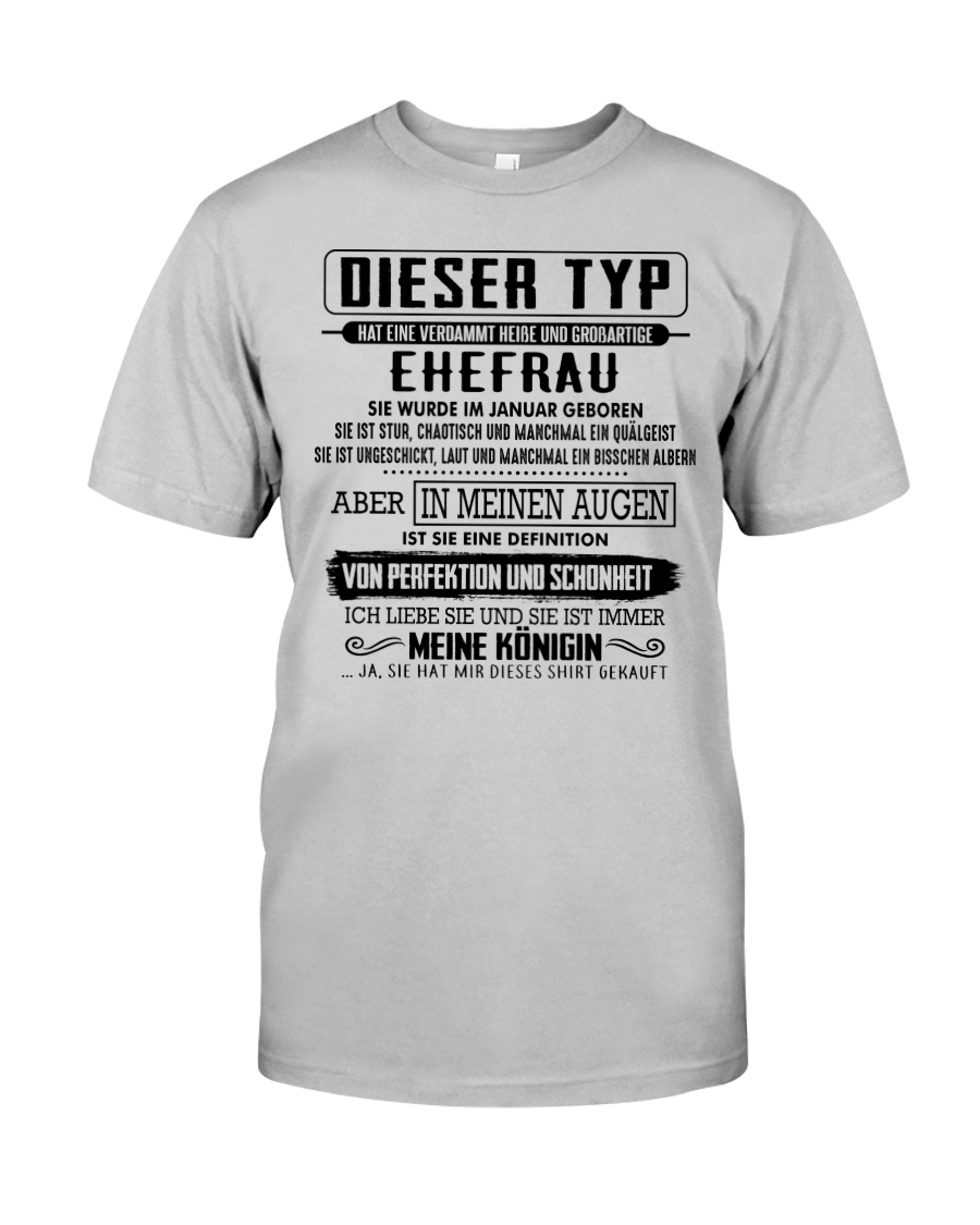 Gift for your husband CTD01 Classic T-Shirt
