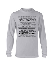 Gift for your father - daughter CTD01 Long Sleeve Tee thumbnail